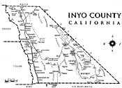 Inyo County Map, Eastern California Museum