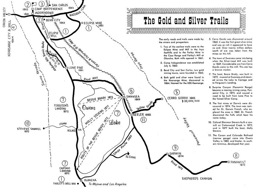 mining map eastern california museum